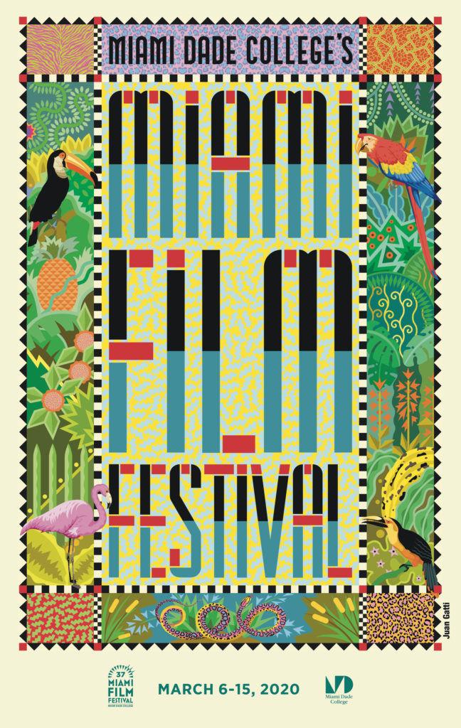 L'affiche 2020 du Miami Film Festival
