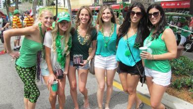 Photo of Saint Patrick 2020 : les fêtes, parades et festivals en Floride