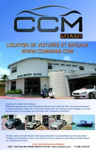 location de voiture et bateaux à Miami