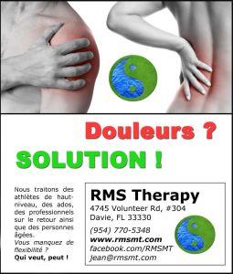 douleurs ? solutions !