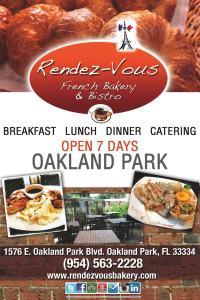 Rendez -vous restaurant à OAKLAND PARK Floride