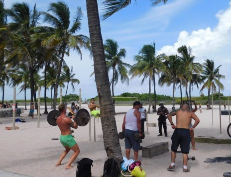 Les gens de South Beach / Miami Beach / Floride