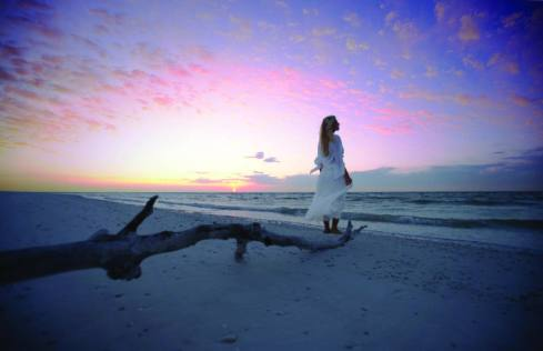 Plage de Marco Island au coucher du soleil (© Naples Marco Island Everglades CVB)