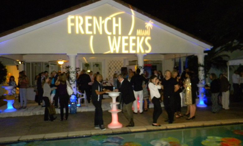 French weeks Miami