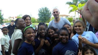 Photo of Le groupe IAM a visité le Lycée Franco-Américain de Cooper City