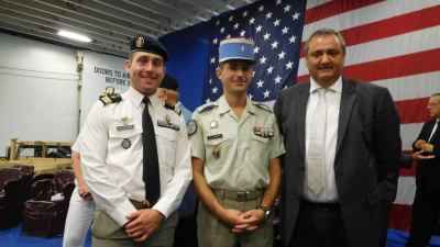 Officiers français de Tampa