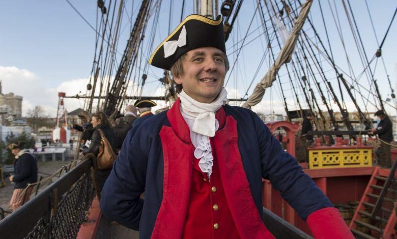 Antoine Faure - Second capitaine, en charge de la navigation. © Olivier Blanchet.