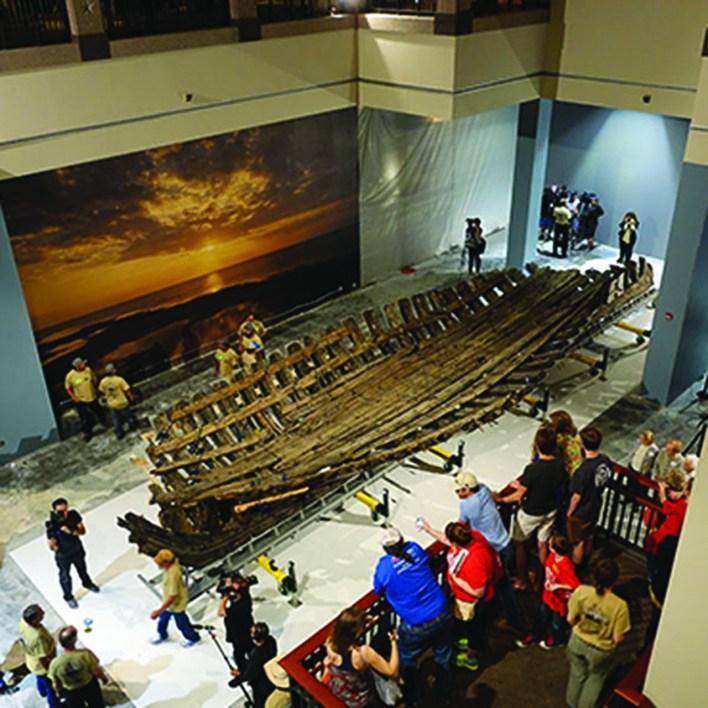 La Belle au musée : le bateau de Cavelier de La Salle enfin exposé !