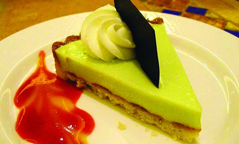 Key Lime Pie de Floride