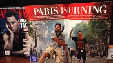 Photo of «Paris est en flammes» pour le magazine Vanity Fair