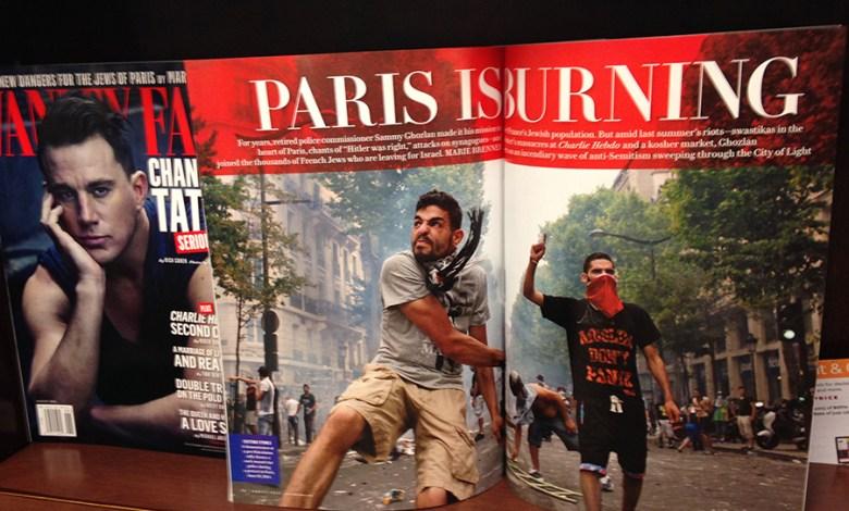 """""""Paris is Burning"""", le dossier de Vanity Fair (édition US) d'août 2015"""