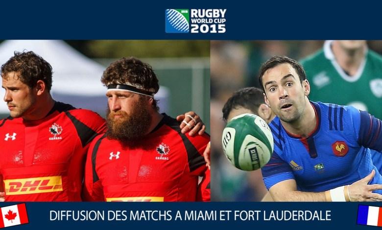 Coupe du monde de rugby Floride Miami Fort Lauderdale