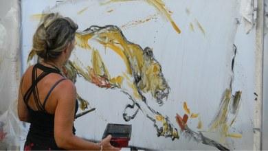 Photo of Peinture : Isabelle Litschig à la Miami Art Fair