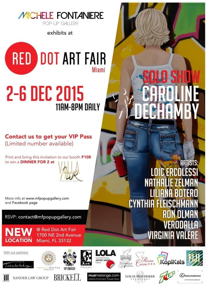 Michèle Fontanière Red Dot Art Fair