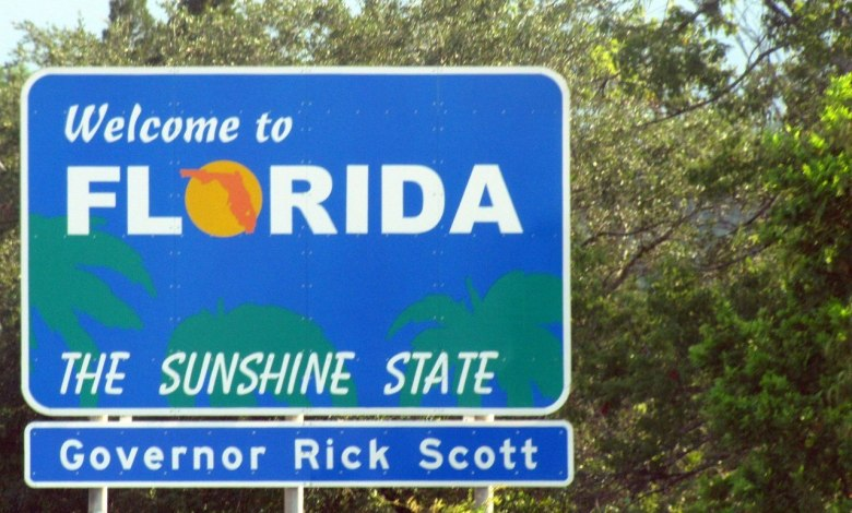 Welcome to Florida (photo : Paul Hamilton CC BY-SA 2.0)