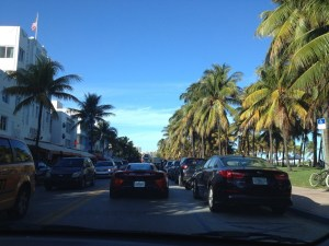 Ocean Drive à Miami Beach - Floride