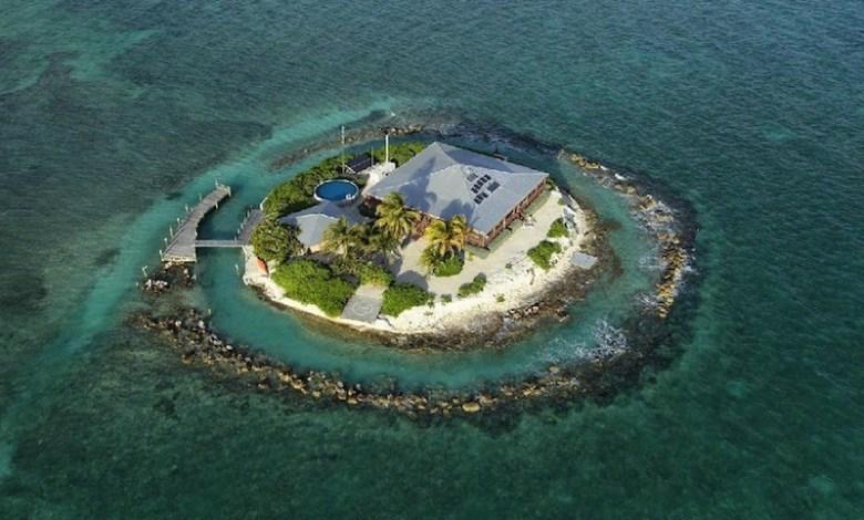 Easter Sister Rock, une île privée dans les Keys de Floride