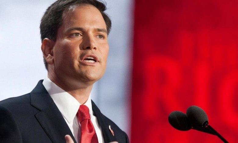 Marco Rubio, candidat à la primaire républicaine aux Etats-Unis