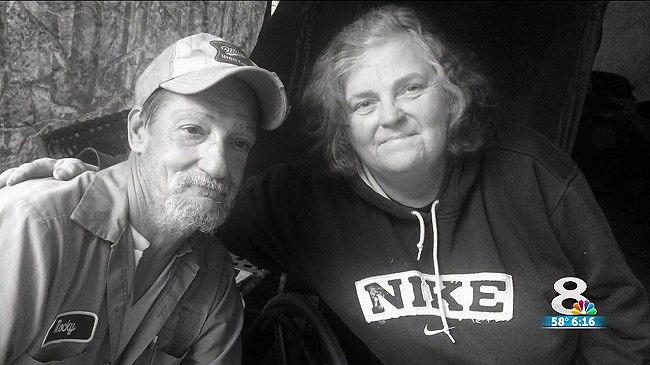 Rocky Bartlett et Evelyn Adams.
