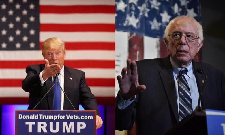 Donald Trump et Bernie Sanders