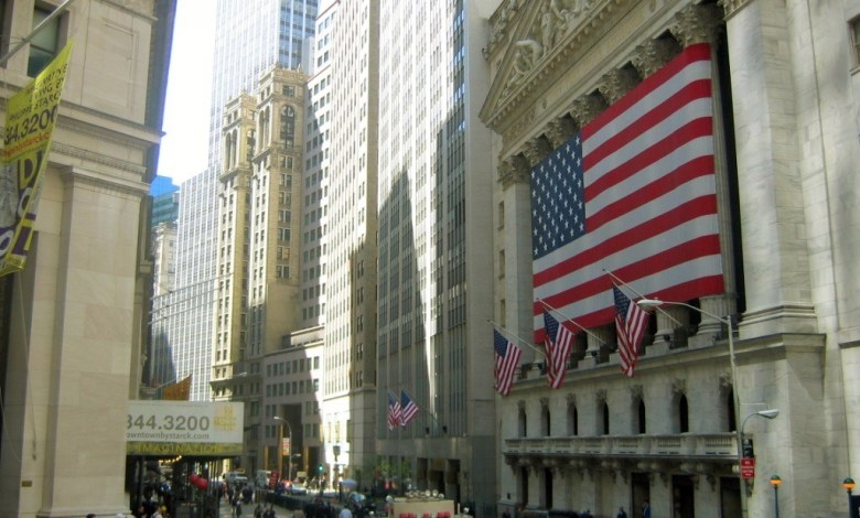 Broad Street et le New-York Stock Exchange (CC BY-SA 3.0)