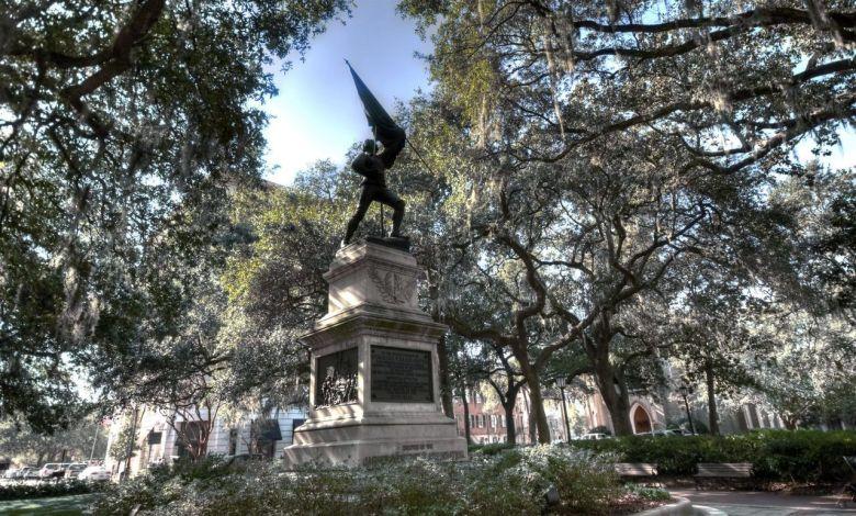 Jasper Square à Savannah