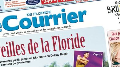 Photo of Le Courrier de Floride d'Avril 2016 est sorti !