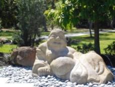 Bouddha dans les Jardins Japonais Morikami à Delray Beach