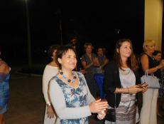 Mme Létrilliart et Pascale Villet (directrice de la FACC Miami) - 30 ans du Consulat de France à Miami