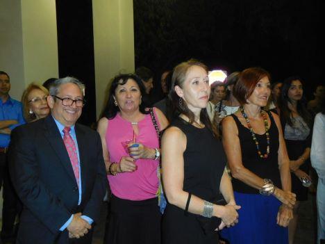Me David Willig, Chantal Gibon, Cynthia Legrand (Belgian Mondays) et son amie prénomée... France ! - 30 ans du Consulat de France à Miami