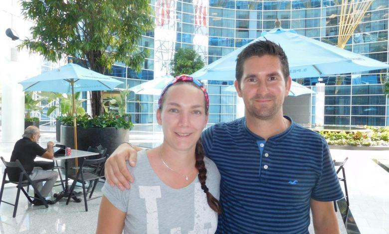 Fanny et Nicolas Pacaud du Petit Paris, restaurant à Hollywood en Floride