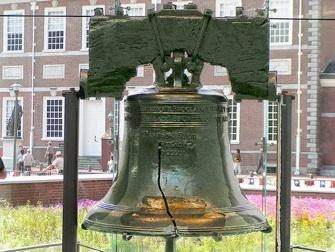 La liberty Bell à Philadelphie