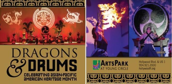 Dragons and Drums, festival asiatique de Hollywood - Floride