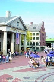 Faneuil Hall Marketplace Greater Boston Convention & Visitors Bureau