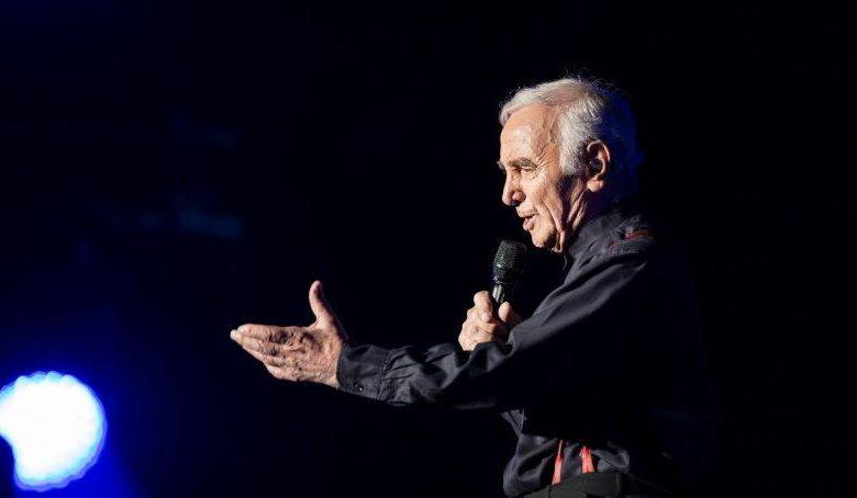 Charles Aznavour à Miami