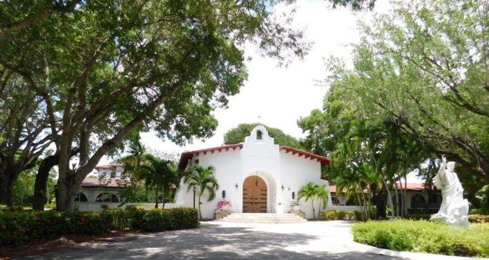 Eglise Catholique San Pedro à Islamorada / Keys de Floride