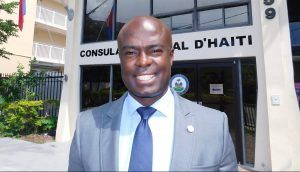 Gandy Thomas, Consul Général de Haïti à Miami