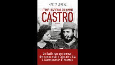 Livre de Marita Lorenz : L'espionne qui aimait Castro