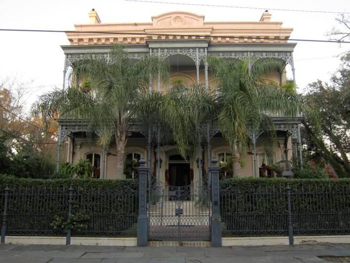Garden District Nouvelle Orléans