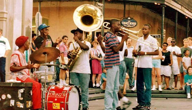 Musique dans les rues de la Nouvelle Orléans