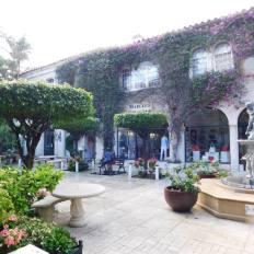 Worth Avenue sur l'île de Palm Beach