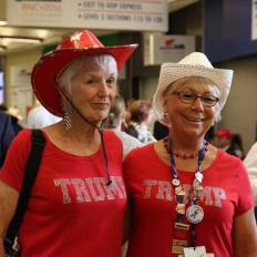 Supportrices de Donald Trump