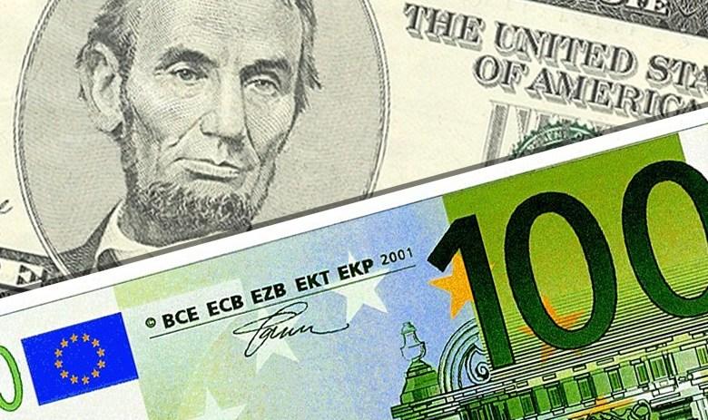 L'Euro et le dollar US à parité.