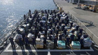 Photo of Saisie record de cocaïne par les marines US et Canadienne