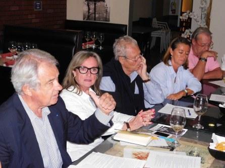 Jacques Brion et Liliane Surville : comité de campagne François Fillon en Floride