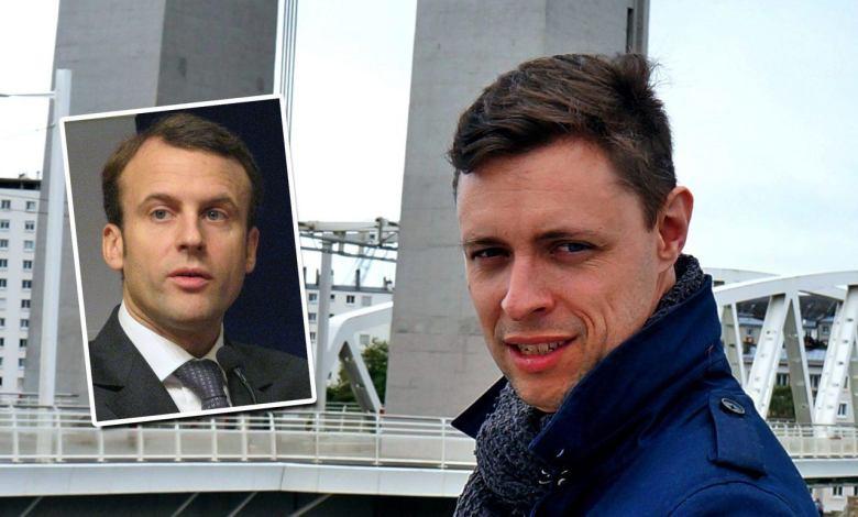 Benoît Duverneuil fait campagne aux Etats-Unis pour la campagne d'Emmanuel Macron aux élections présidentielles françaises
