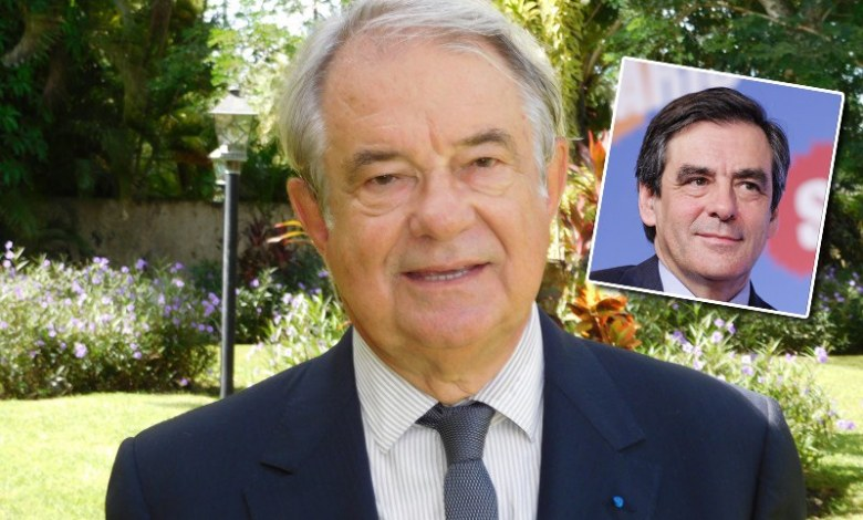 Jacques Brion et François Fillon
