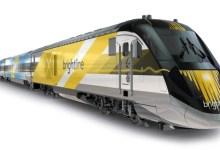 Train Brightline entre Miami et Orlando, passant par Fort Lauderdale et West Palm Beach