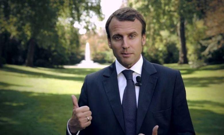 Emmanuel Macron / réunions en Floride