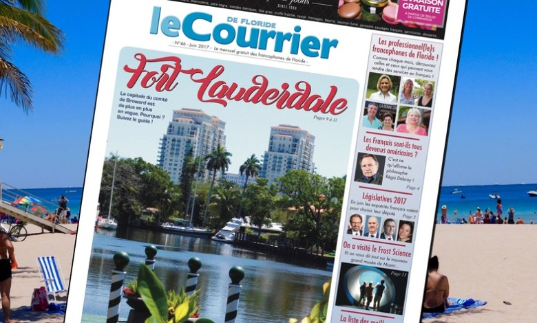 Courrier de Floride / Juin 2017
